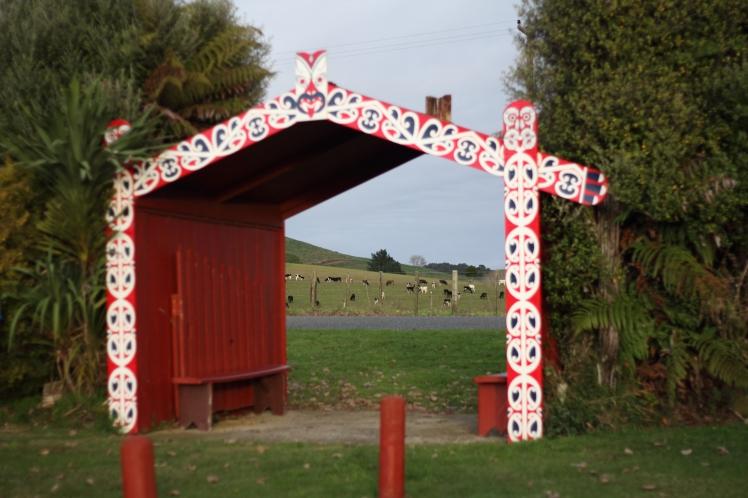 Marae Entrance