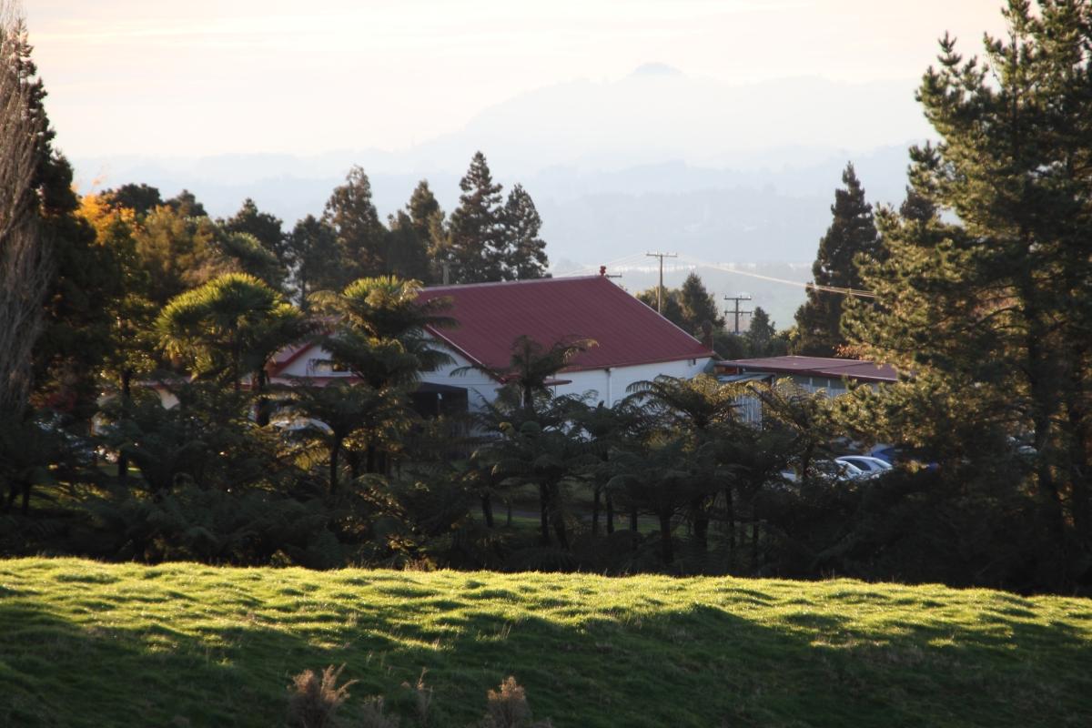 Marae view 1